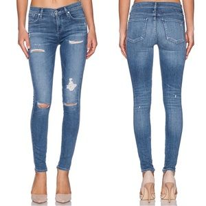 Agolde A Gold E Sophie High Rise Skinny In Cannes